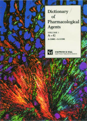 Dictionary of Pharmacological Agents book cover