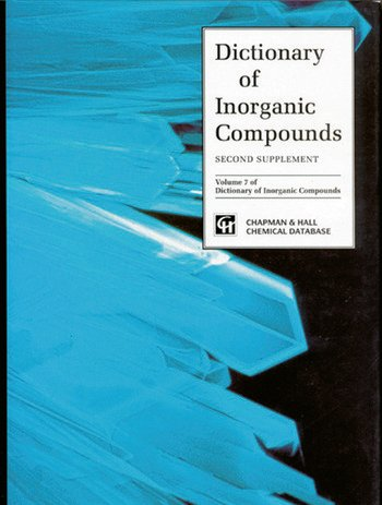 Dictionary of Inorganic Compounds, Supplement 2 book cover