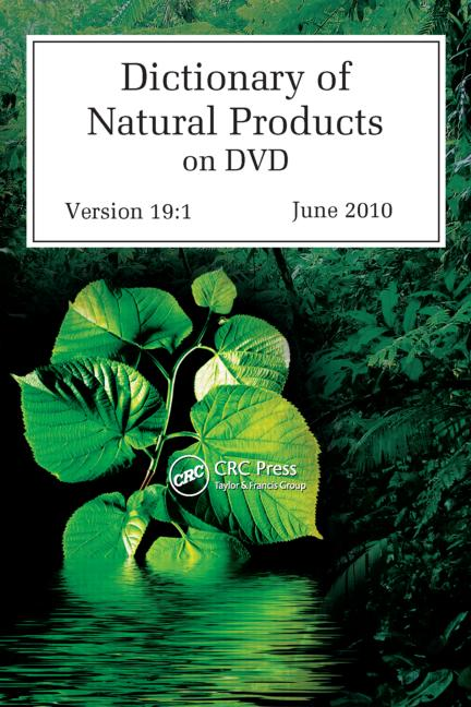Dictionary of Natural Products on DVD book cover