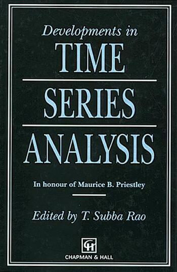 Developments in Time Series Analysis book cover