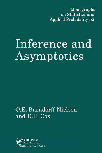 Inference and Asymptotics book cover