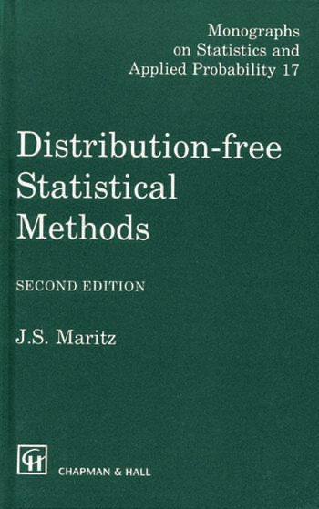 Distribution-Free Statistical Methods, Second Edition book cover