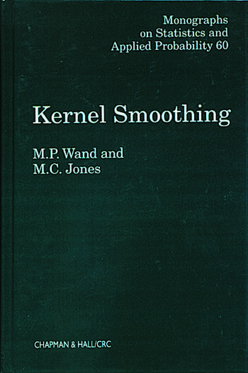 Kernel Smoothing book cover