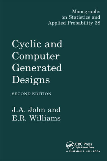 Cyclic and Computer Generated Designs book cover