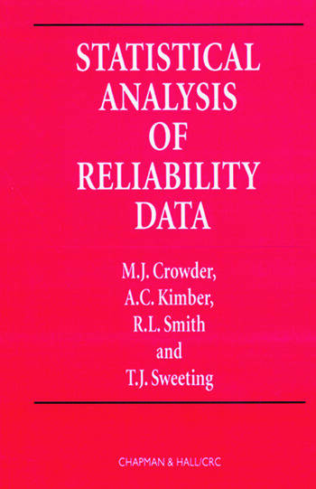 Statistical Analysis of Reliability Data book cover