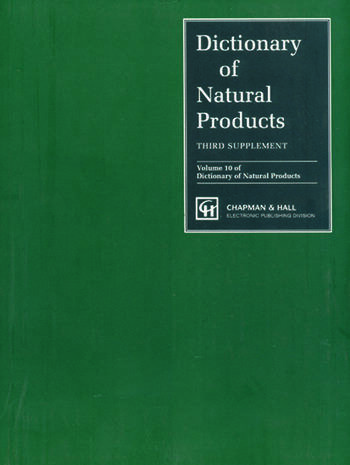 Dictionary of Natural Products, Supplement 3 book cover