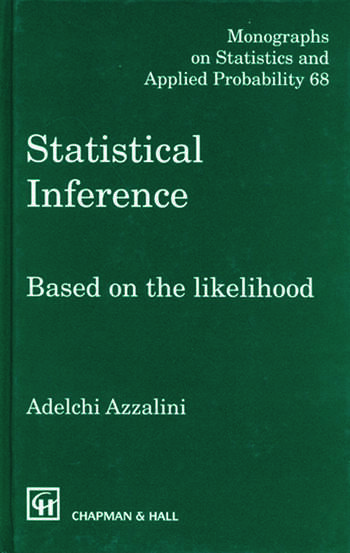 Statistical Inference Based on the likelihood book cover