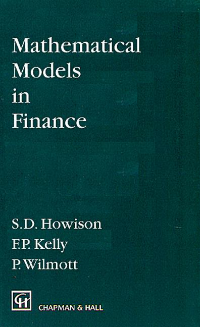 Mathematical Models in Finance book cover