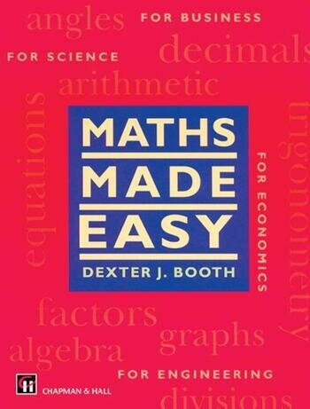Maths Made Easy book cover