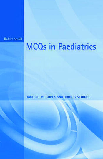 MCQs in Paediatrics, 2Ed book cover