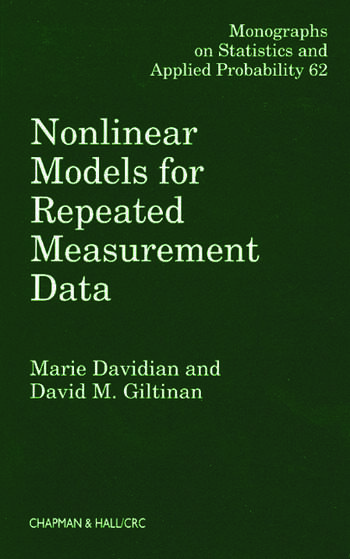 Nonlinear Models for Repeated Measurement Data book cover