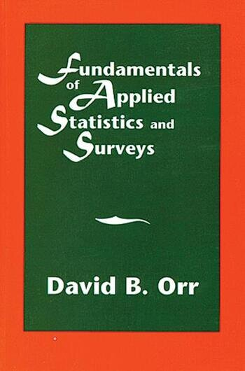 Fundamentals of Applied Statistics and Surveys book cover