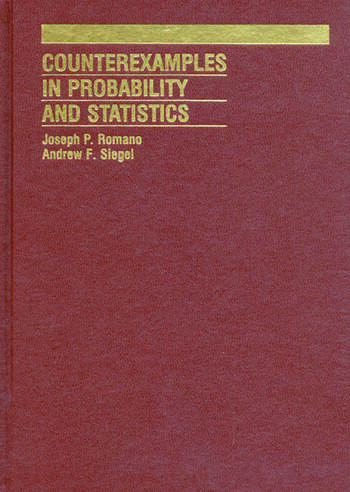 Counterexamples in Probability And Statistics book cover