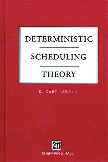 Deterministic Scheduling Theory book cover
