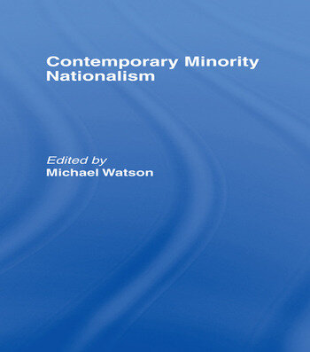 Contemporary Minority Nationalism book cover