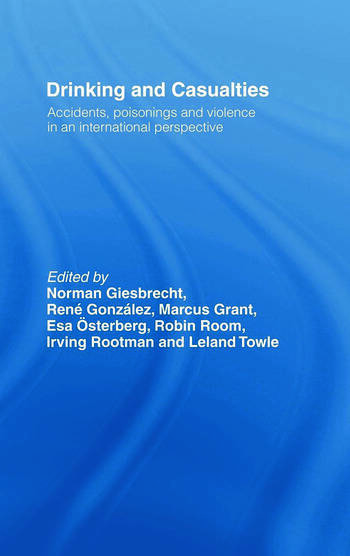 Drinking and Casualties Accidents, Poisonings and Violence in an International Perspective book cover