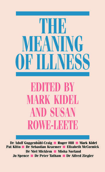 The Meaning of Illness book cover