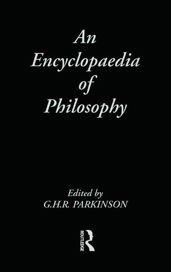An Encyclopedia of Philosophy book cover