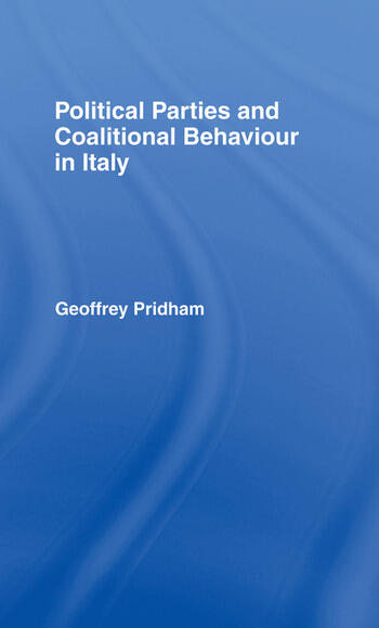 Political Parties and Coalitional Behaviour in Italy book cover