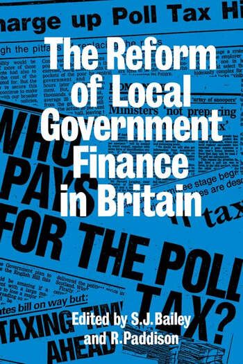 Reform Of Local Govt Finance book cover