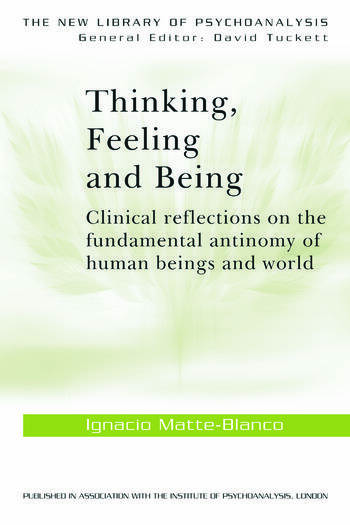Thinking, Feeling, and Being book cover