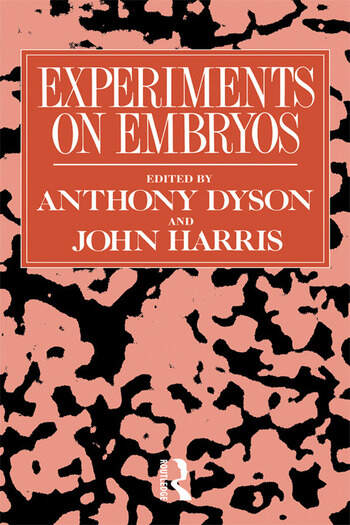 Experiments on Embryos book cover
