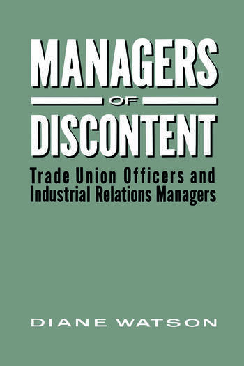 Managers of Discontent book cover