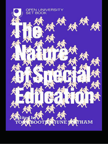 The Nature of Special Education book cover