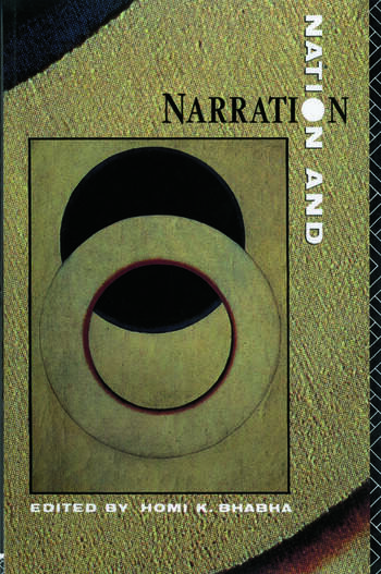 Nation and Narration book cover