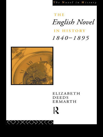 The English Novel In History 1840-1895 book cover