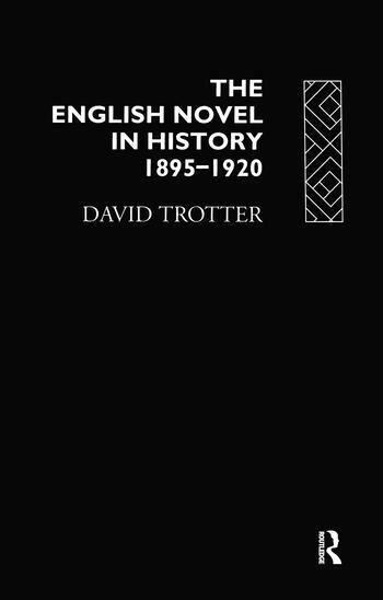 English Novel Hist 1895-1920 book cover