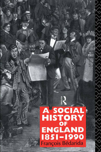 A Social History of England 1851-1990 book cover