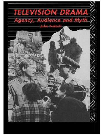 Television Drama Agency, Audience and Myth book cover