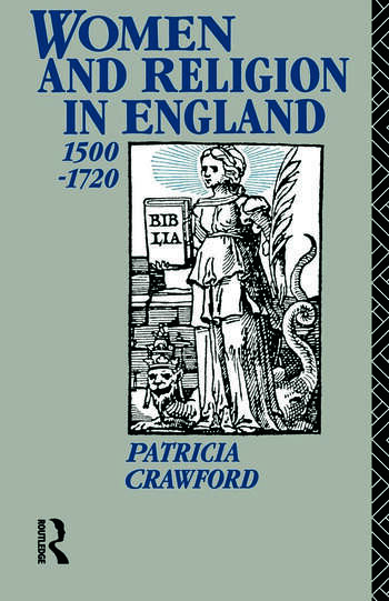 Women and Religion in England 1500-1720 book cover