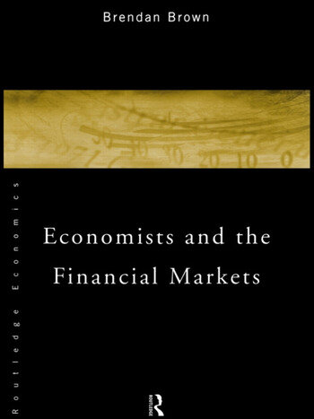 Economists and the Financial Markets book cover