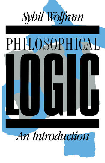Philosophical Logic An Introduction book cover