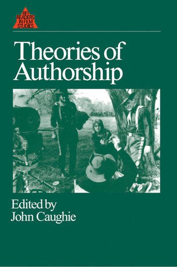 Theories of Authorship book cover