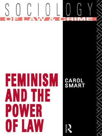 Feminism and the Power of Law book cover