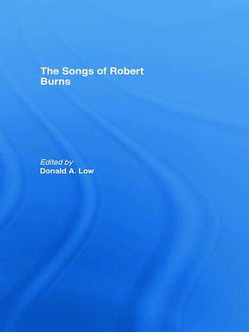 The Songs of Robert Burns book cover