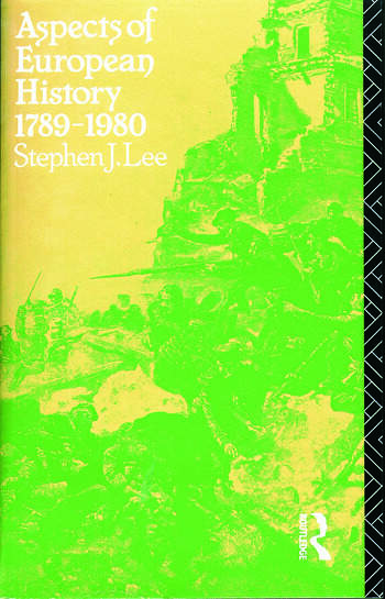 Aspects of European History 1789-1980 book cover