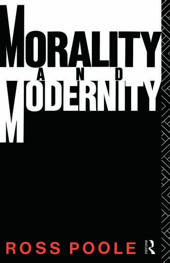 Morality and Modernity book cover