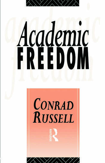 Academic Freedom book cover