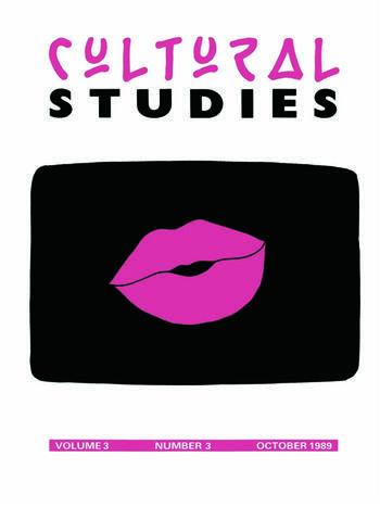 Cultural Studies Volume 3 No. 3 book cover