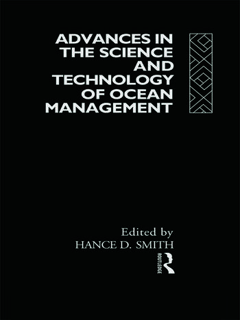 Advances in the Science and Technology of Ocean Management book cover