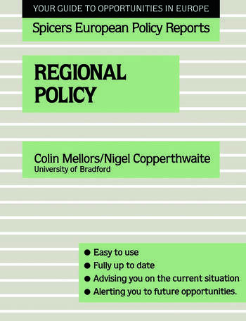 Regional Policy book cover
