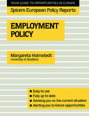 Employment Policy book cover