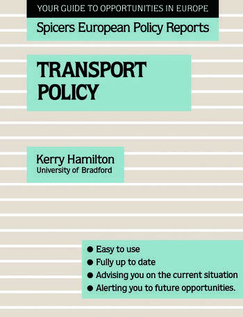 Transport Policy book cover