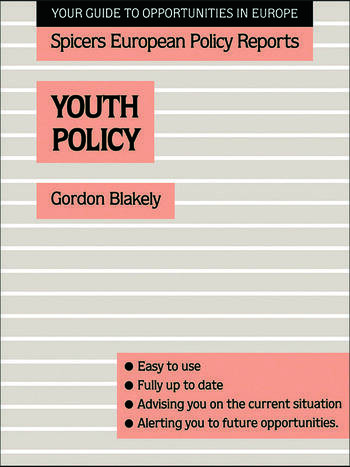 Youth Policy book cover