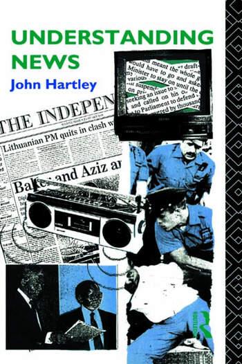 Understanding News book cover