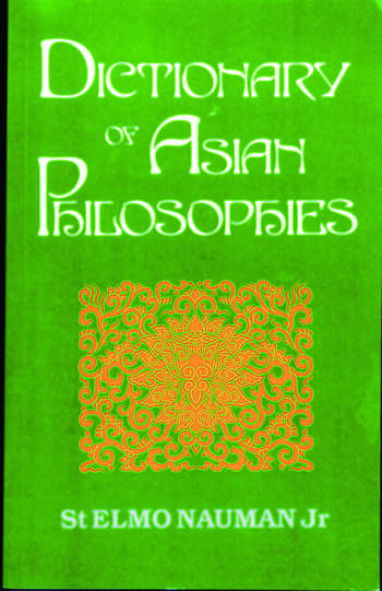 Dictionary of Asian Philosophies book cover